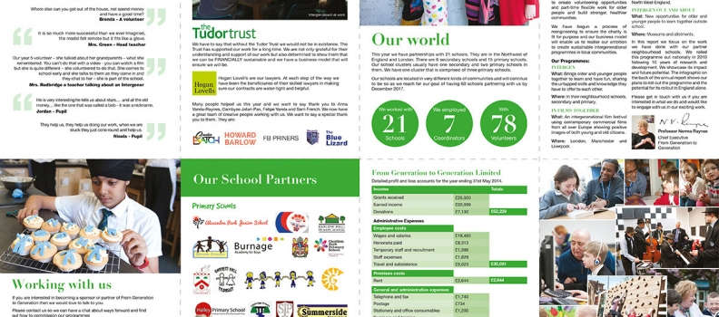 FROM GENERATION TO GENERATION ANNUAL REPORT