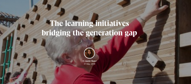 The learning initiatives bridging the generation gap